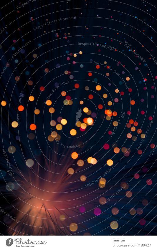 simply dots rot Freude gelb abstrakt Feste & Feiern glänzend Geburtstag leuchten Fröhlichkeit Licht Coolness Lebensfreude Kitsch Silvester u. Neujahr Karneval