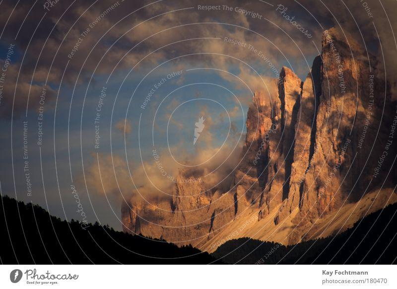 ° Himmel Ferien & Urlaub & Reisen Sommer Wolken Landschaft Berge u. Gebirge Dolomiten Italien