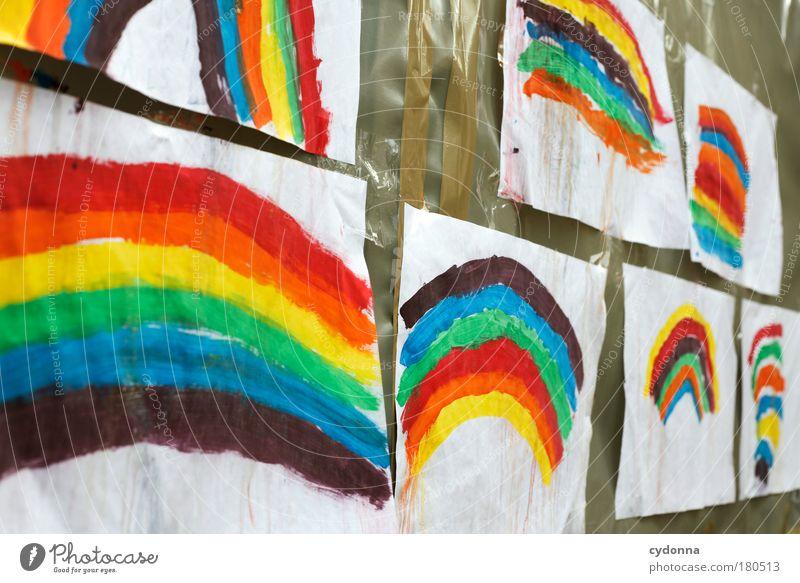 Farbenfroh schön Freude Leben Glück Erde Design träumen Kindheit ästhetisch Kommunizieren Kreativität Zukunft Lebensfreude Idee einzigartig