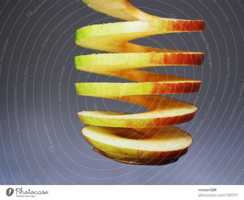 Vitaminspirale. Weihnachten & Advent Gesundheit abstrakt Zufriedenheit Frucht außergewöhnlich elegant Design modern frisch Dekoration & Verzierung einzigartig Licht Wellness Apfel Leidenschaft