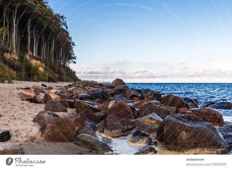ostsee Wasser Landschaft ruhig Ostsee Gelassenheit Vorsicht geduldig achtsam Selbstbeherrschung