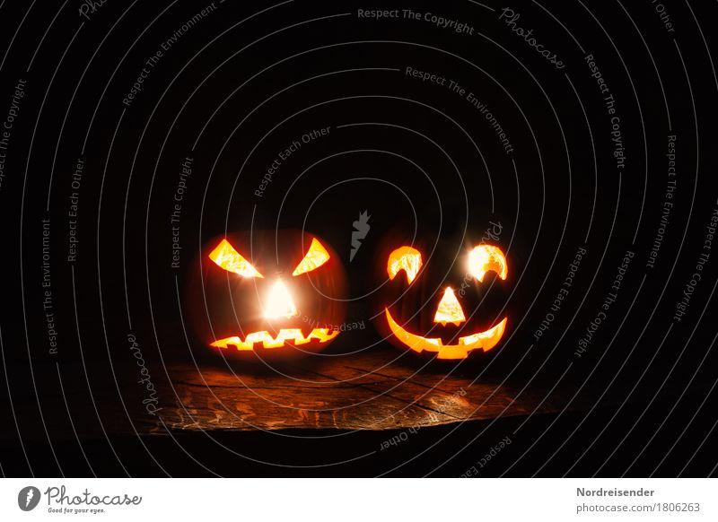 Süßes oder Saures Freude dunkel Party Freizeit & Hobby Angst Dekoration & Verzierung verrückt bedrohlich Freundlichkeit Gemüse trendy Wut gruselig
