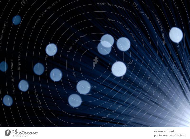 new star in the sky blau ruhig schwarz Lampe Erholung Freiheit träumen Wärme Stimmung Kraft Stern glänzend elegant abstrakt ästhetisch Romantik