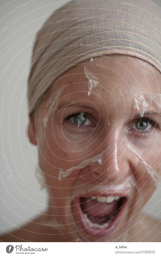 metamorphose 3.0 Jugendliche schön Erwachsene Gesicht feminin Gefühle Bewegung Haut natürlich außergewöhnlich Wellness Sauberkeit 18-30 Jahre nah trocken