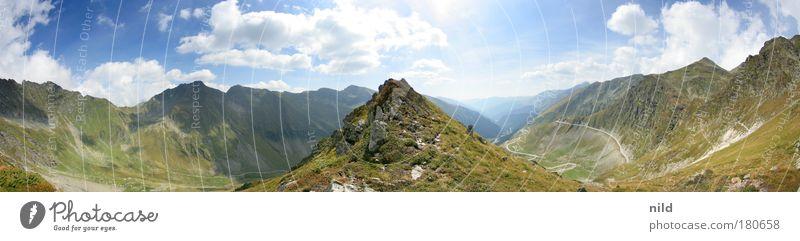 Roadtrip - Rumäniens schönstes Panorama Farbfoto Außenaufnahme Sonnenlicht Panorama (Aussicht) Erholung ruhig Freizeit & Hobby Ferien & Urlaub & Reisen