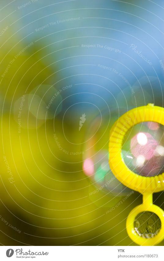 Pust mich! Freude gelb Gefühle Spielen Glück träumen Wärme Luft glänzend Lifestyle Fröhlichkeit abstrakt ästhetisch Freizeit & Hobby Kitsch