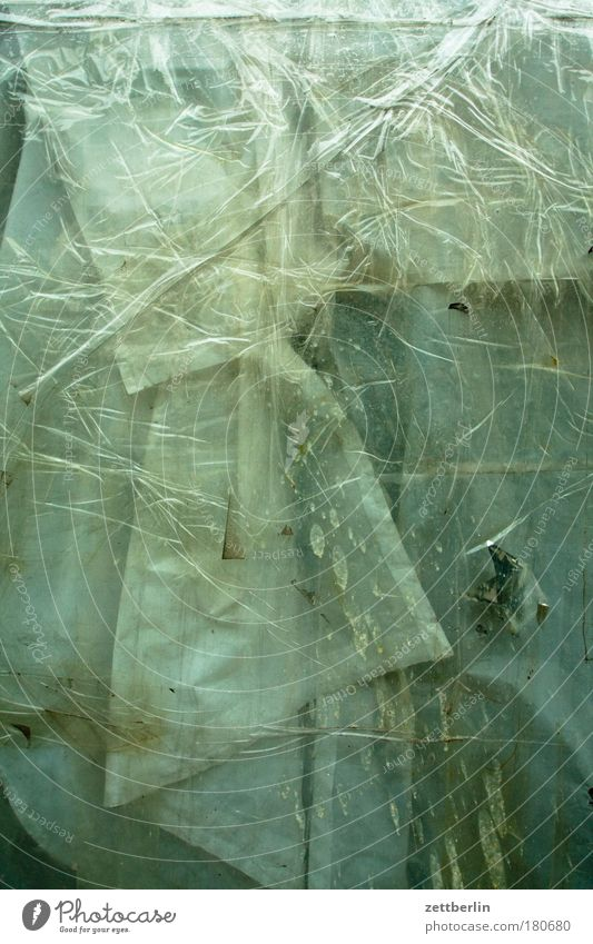 Schaufenster Fenster Glas Hintergrundbild geschlossen Ordnung geheimnisvoll Falte Fensterscheibe Renovieren Scheibe Gardine Rätsel verdeckt Abdeckung Schaufenster Textfreiraum