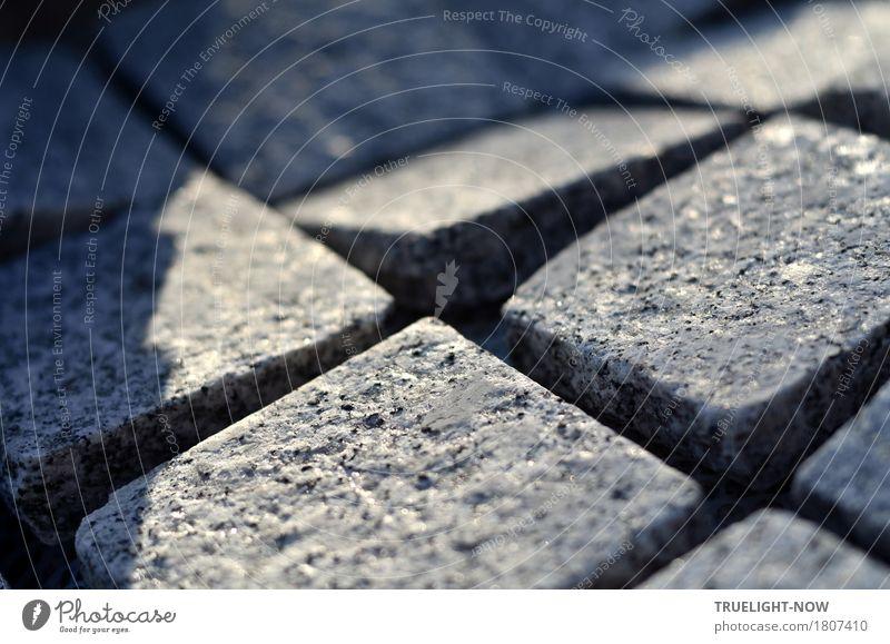 """quadratisch, praktisch und sehr hart Terrasse """"Pflastersteine Basalt"""" Wege & Pfade Stein Sand bauen eckig fest Sauberkeit stark blau grau schwarz silber"""