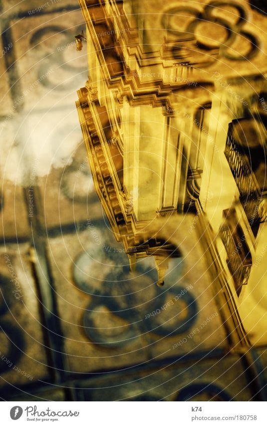 concrete jungle alt Haus gelb Architektur Wärme Gebäude dreckig Platz Bauwerk Reichtum