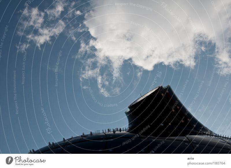 friendly alien Architektur Stil Gebäude Kunst elegant Design Graz Dach Kommunizieren Bauwerk Museum Sehenswürdigkeit Außerirdischer Bundesland Steiermark Österreich