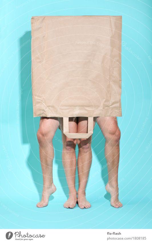 THE WALKING BAG VIII Mensch Mann Erotik Freude Erwachsene Umwelt Gesundheit Kunst Business Feste & Feiern Paar Design Sex kaufen Fitness berühren