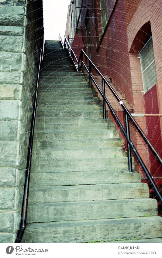 Trepp2 Haus Wand Architektur Treppe Geländer