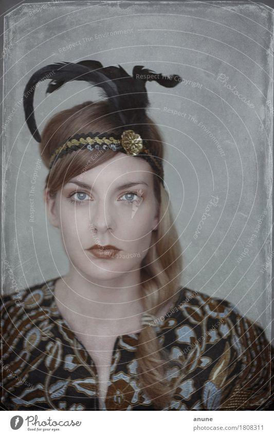 Frollein Art déco Jugendliche schön Junge Frau 18-30 Jahre Erwachsene Stil Kunst Mode Haare & Frisuren Design elegant ästhetisch retro einzigartig Bekleidung historisch