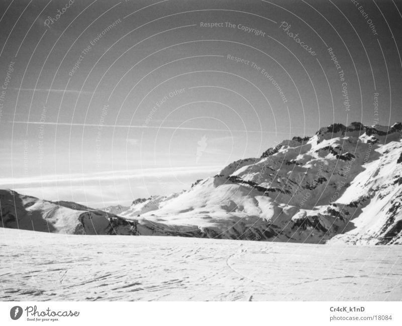 Winterlandschaft2 Schneelandschaft Europa Landschaft Berge u. Gebirge Idylle Alpen