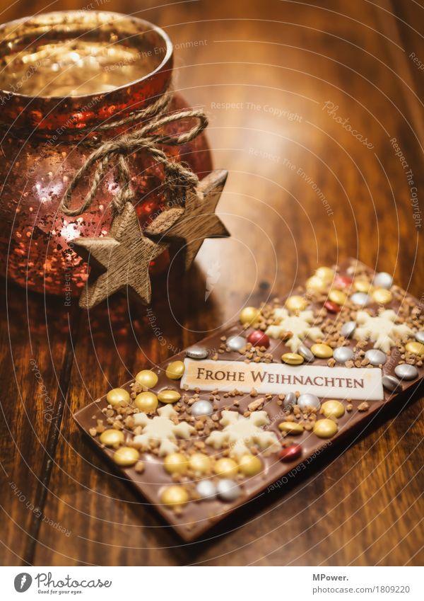 weihnachtsgrüße Kamm Schleife Kitsch Weihnachten & Advent Holz Glas gold Dekoration & Verzierung Weihnachtsdekoration Stern (Symbol) Zimt Licht Warmes Licht