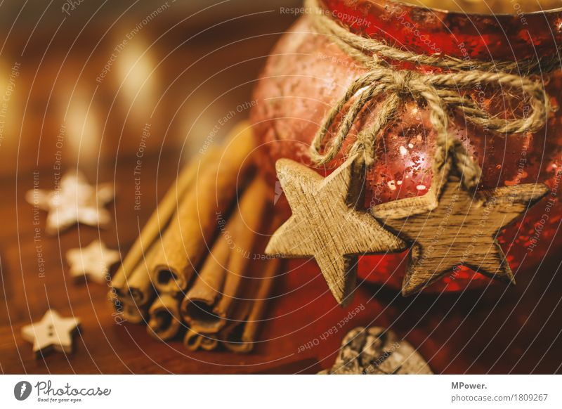 weihnachtsgrüße alt Weihnachten & Advent Holz braun glänzend Dekoration & Verzierung Glas gold Stern (Symbol) Romantik Kerze Kitsch Vorfreude Schleife