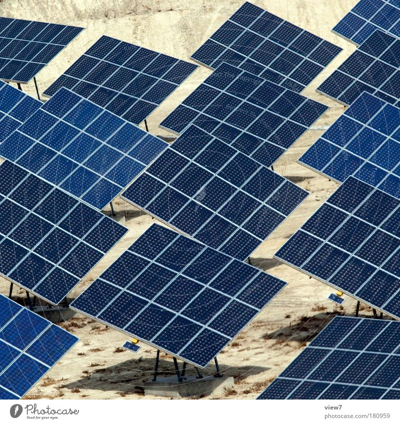 hokla bokla blau Energie Erfolg modern Energiewirtschaft natürlich kaputt Zukunft Industrie einzigartig Technik & Technologie Wüste außergewöhnlich Fabrik