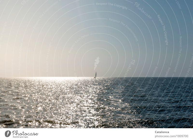 billich | sich was wünschen blau Sommer Wasser Meer Landschaft Stimmung Horizont Freizeit & Hobby glänzend Luft gold elegant Kraft authentisch Energie nass