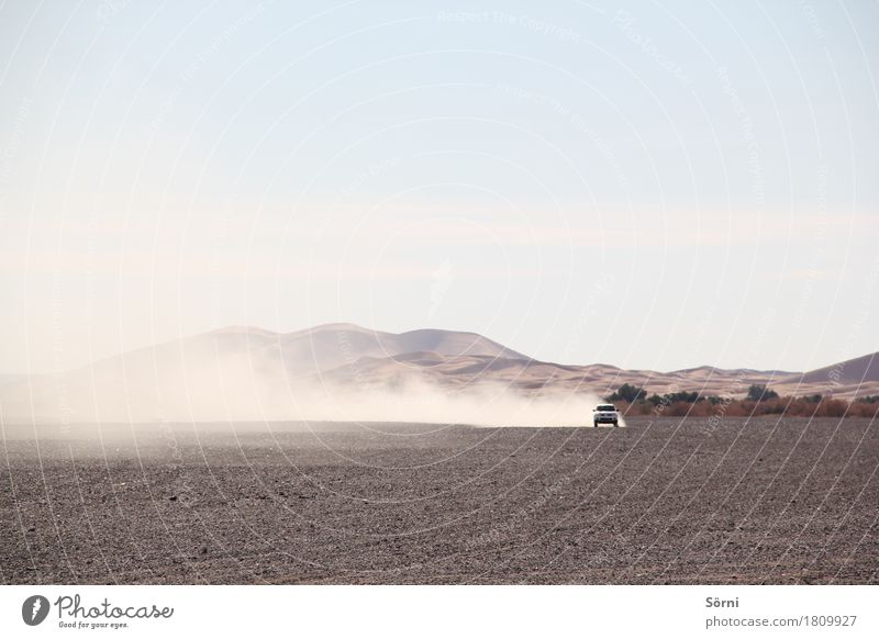 Drift King Ferien & Urlaub & Reisen Ferne Bewegung Freiheit Sand Tourismus PKW dreckig Ausflug Geschwindigkeit Abenteuer Coolness trocken Wüste rennen