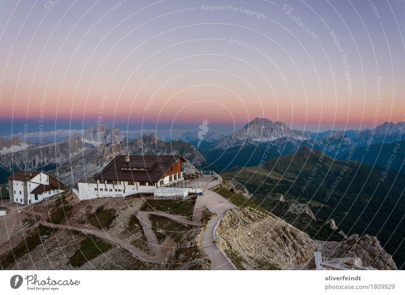 Dolomiten - Rifugio Lagazuoi Himmel Natur Ferien & Urlaub & Reisen schön Landschaft Ferne Berge u. Gebirge Umwelt Freiheit Felsen Horizont Ausflug wandern groß