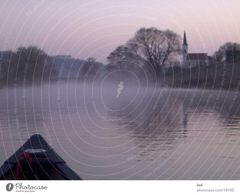Silent ruhig Wasserfahrzeug Kanu Altmühltal Fluss