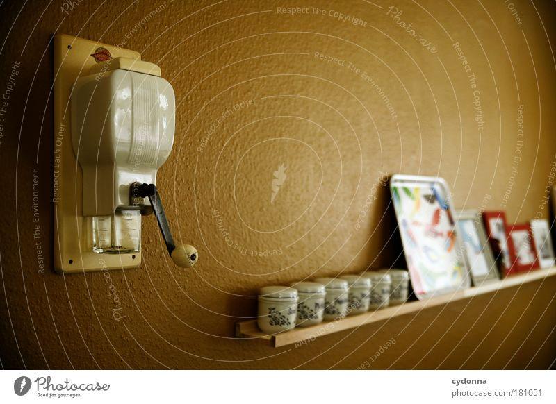 Aufgereiht ruhig Farbe Leben Wand Mauer Gesundheit Freizeit & Hobby Zeit Wohnung Innenarchitektur ästhetisch Häusliches Leben Dekoration & Verzierung Küche
