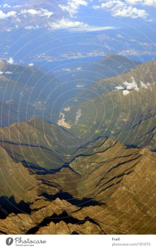 ...über den Wolken... Himmel Natur Pflanze Umwelt Landschaft Luft Wetter Klima Schönes Wetter Gipfel Hügel Schneebedeckte Gipfel