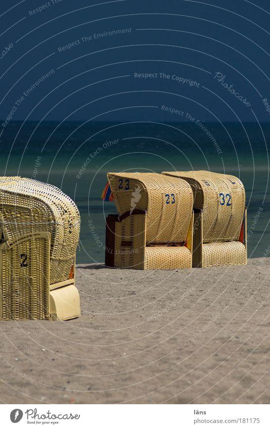 2 23 32 Natur Himmel Meer Sommer Strand Ferien & Urlaub & Reisen ruhig Wolken Erholung Sand Zufriedenheit Küste Wetter Umwelt Ausflug Tourismus