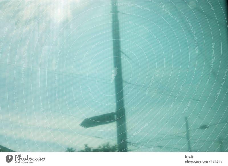 LINKS AB Sonne Hintergrundbild Netzwerk trist Hinweisschild Netz Telekommunikation Stahl Zaun Grenze trashig Richtung Barriere Draht Surrealismus Scheinwerfer