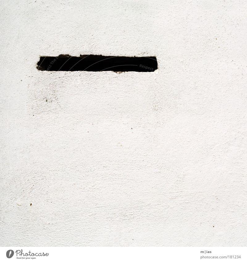 Briefkasten Wand Mauer Stein Arbeit & Erwerbstätigkeit Fassade Beton Streifen Geldinstitut schreiben Sehnsucht Zeichen Medien Ruhestand Nostalgie bauen Briefkasten