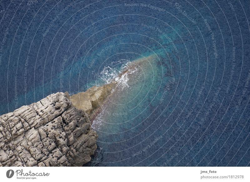 Fels in der Brandung Natur Ferien & Urlaub & Reisen blau Wasser Meer Landschaft Küste Felsen Tourismus wild Wellen Spanien Mallorca