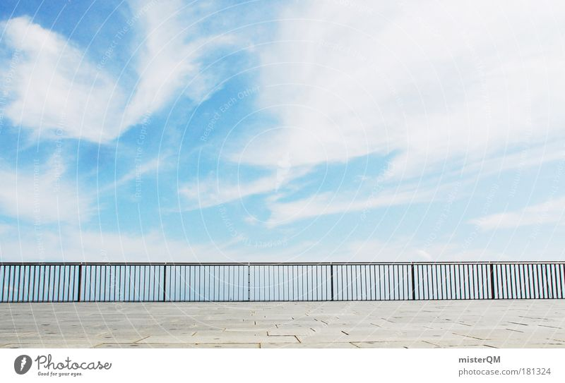 Sonnendeck. Farbfoto Gedeckte Farben Außenaufnahme abstrakt Muster Strukturen & Formen Menschenleer Textfreiraum links Textfreiraum rechts Textfreiraum oben