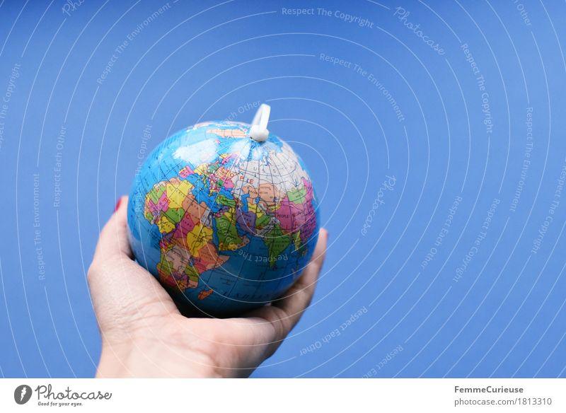 Globus_1813310 Hand Erde - ein lizenzfreies Stock Foto von Photocase