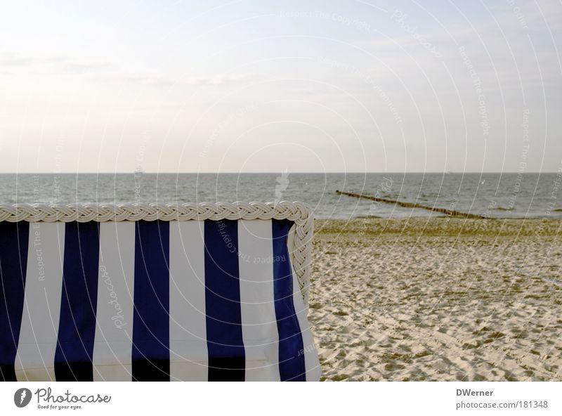 Sehnsucht nach dem Sommer! Wasser Himmel weiß Sonne Strand Ferien & Urlaub & Reisen ruhig Sand Wellen Ausflug Wellness Tourismus Freizeit & Hobby Idylle