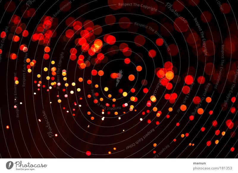 sparkling dots Farbe rot Beleuchtung Feste & Feiern Hintergrundbild Stimmung Nacht glänzend leuchten Design Geburtstag Kreativität Jubiläum Zeichen viele