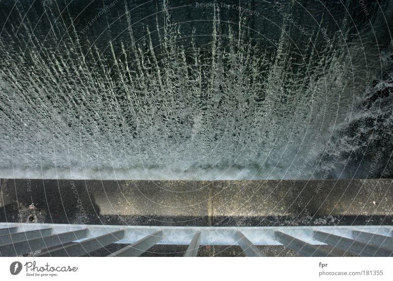 Wassersturz Wasser Bewegung Umwelt nass Energie Elektrizität