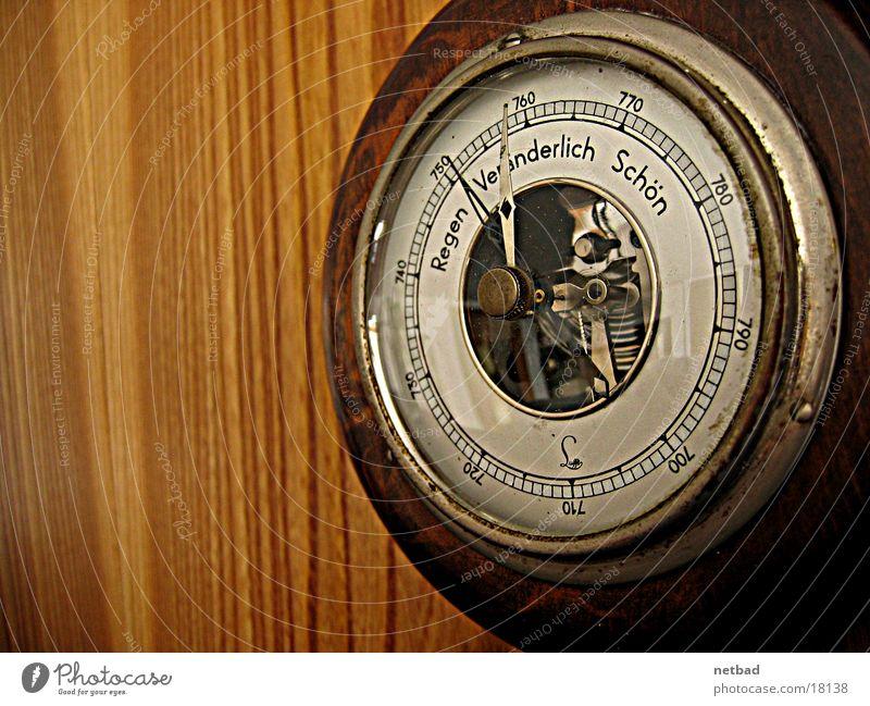 Wetterbarometer0 Barometer Wetterdienst Dinge Antiqität Luftdruckmessung
