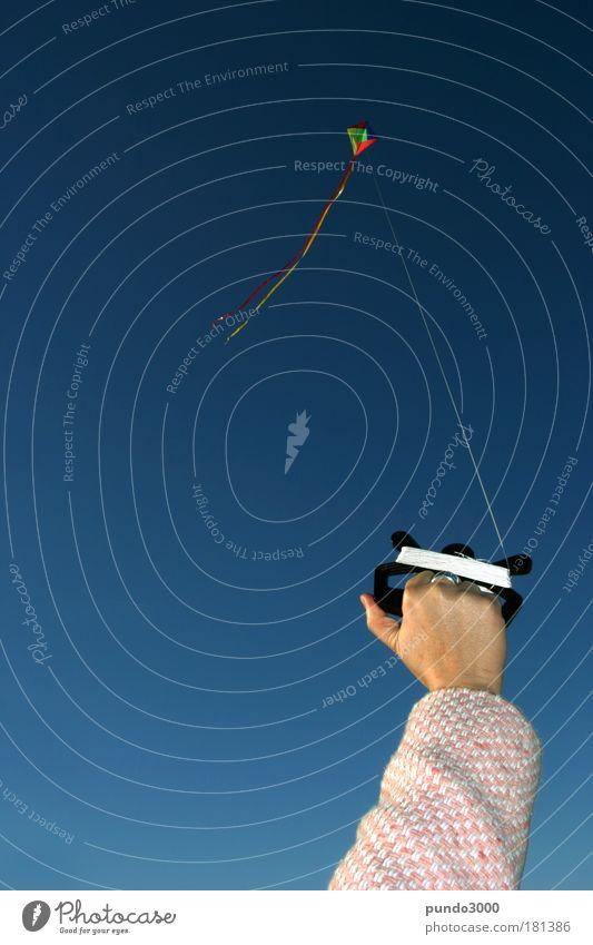 schön festhalten 3 Hand blau Spielen oben Luft Kraft Arme Wetter fliegen frei Finger Macht Ziel Freizeit & Hobby festhalten