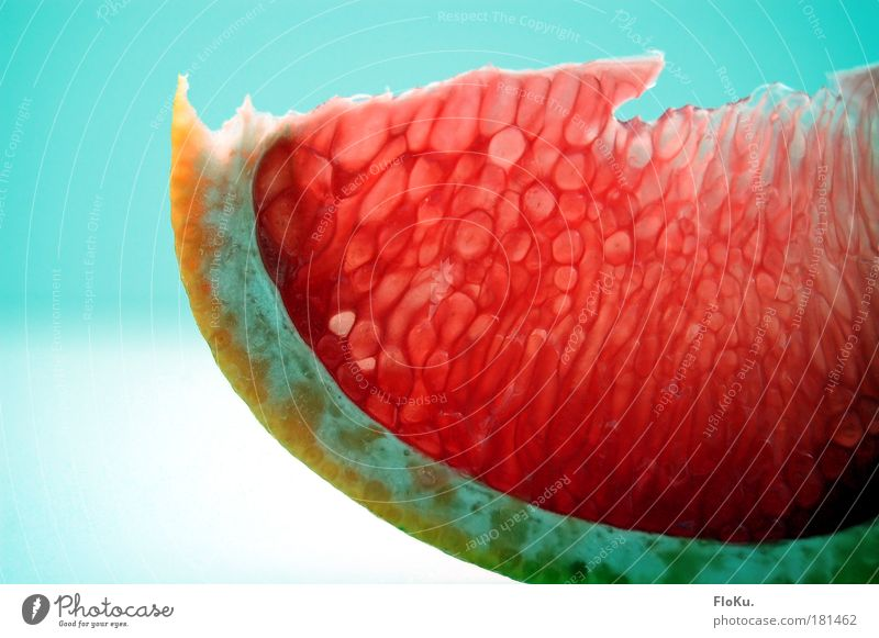 Frühstückchen blau rot Ernährung Farbe Gesundheit rosa Lebensmittel Frucht rund lecker Scheibe Vitamin Erfrischung sauer fruchtig
