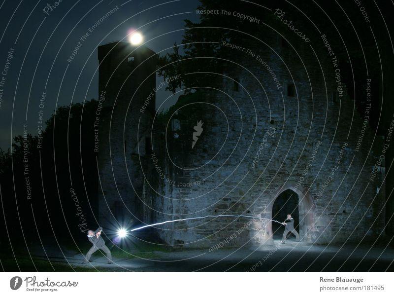 Zwei sind einer zuviel in Tristram Mensch Erwachsene dunkel außergewöhnlich maskulin bedrohlich Schutz fantastisch kämpfen Nacht