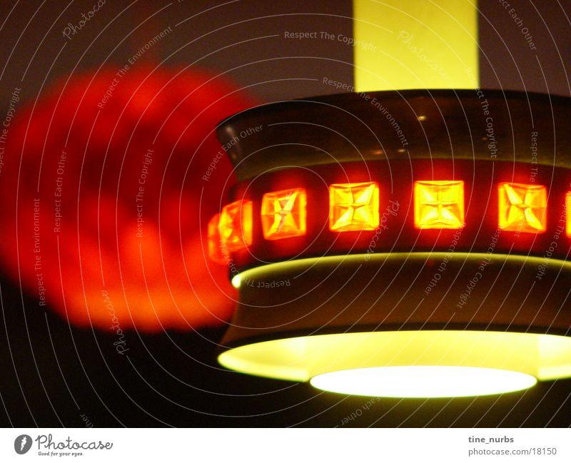 lampe gelb Lampe Stil Sechziger Jahre