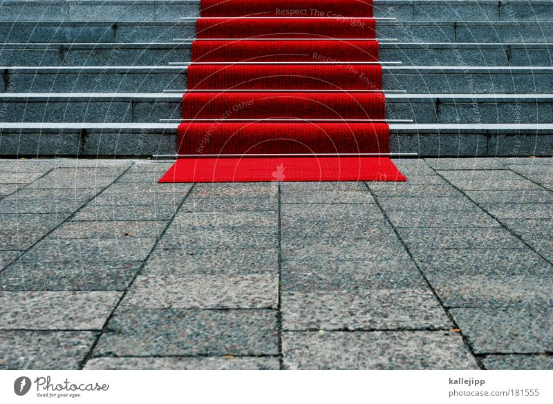 kir royal rot Mensch Business Kunst Feste & Feiern Freizeit & Hobby mehrfarbig elegant Treppe Erfolg Lifestyle Macht Kultur Show Medien Konzert