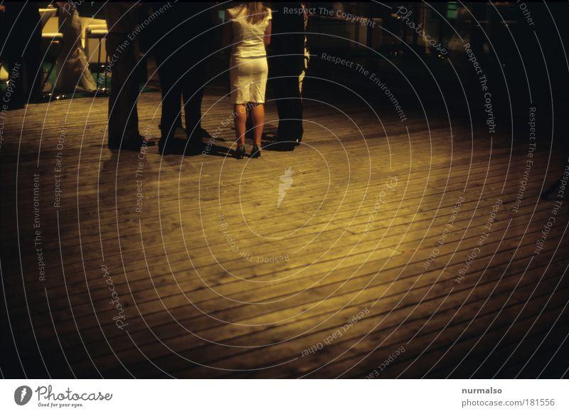 Über den Dächern Berlins Gedeckte Farben Nacht Kunstlicht Schatten Lifestyle schön Nachtleben Veranstaltung Mensch maskulin feminin Frau Erwachsene Mann Gesäß