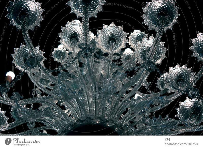 Kristallleuchter IV Kunstlicht Glas elegant glänzend groß hell Erfolg Reichtum Stil edel nobel Kronleuchter Lampe