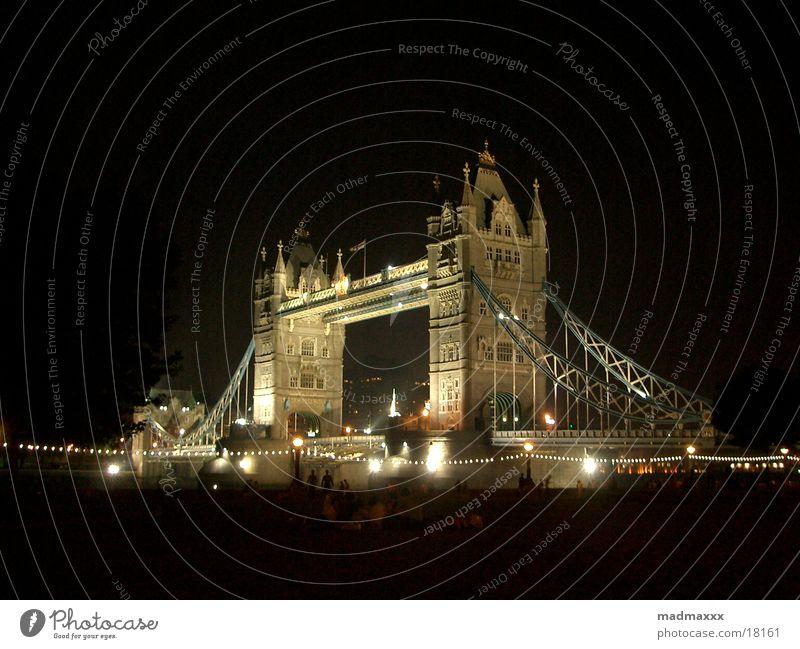 london #3 Europa London Nachtaufnahme Tower Bridge
