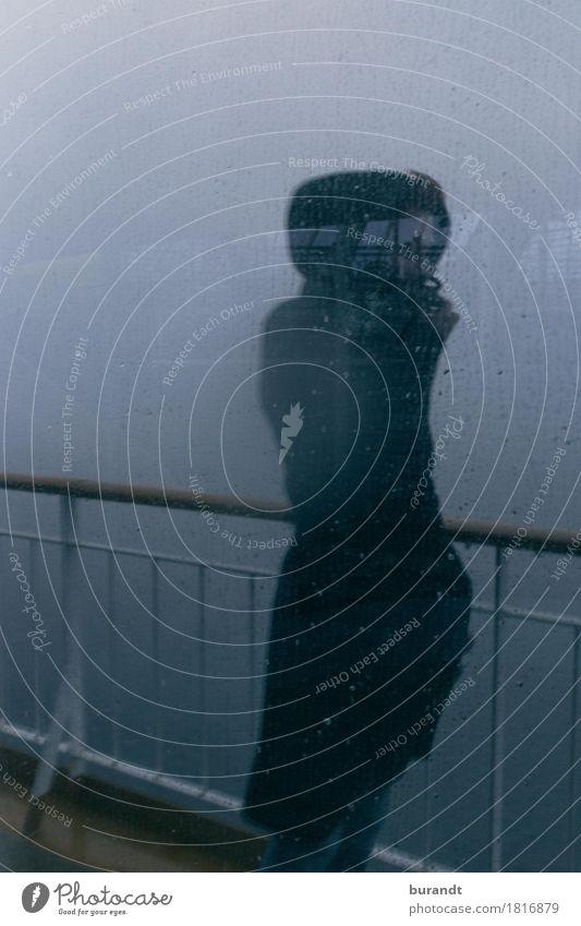 nordisch Ferien & Urlaub & Reisen feminin Junge Frau Jugendliche Körper 1 Mensch 18-30 Jahre Erwachsene Wasser Wassertropfen schlechtes Wetter Wind Sturm Regen