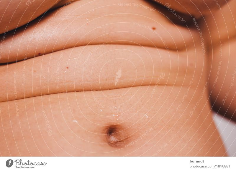 Hautlandschaft Jugendliche Junge Frau 18-30 Jahre Erwachsene feminin Schwimmen & Baden Frauenbrust Körper Wassertropfen Warmherzigkeit Hautfalten Brust direkt
