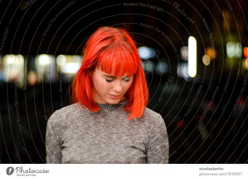 MP106 - Nicht Atmen Mensch Jugendliche schön Junge Frau Erotik Erholung ruhig 18-30 Jahre Erwachsene Lifestyle feminin Stil Haare & Frisuren wild leuchten