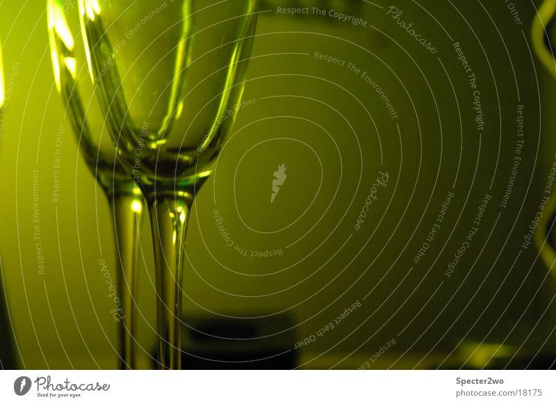 Green Zone II Glas Sekt Alkohol