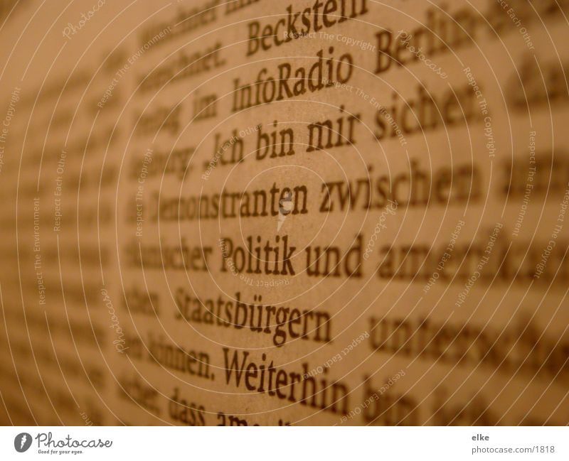aktuell Schriftzeichen Zeitung Buchstaben Zeitschrift Medien